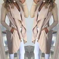 Women top coat 2019 Autumn Winter New Wild Slim Long Knitwear Cardigan Women Clothes Sweater Coat Long Sleeve Coat Windbreaker