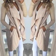 Women top coat 2019 Autumn Winter New Wild Slim Long Knitwear Cardigan Women Clo
