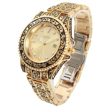 Tple Men watch personality carved men European and American style water ghost fashion luxury simple men watches