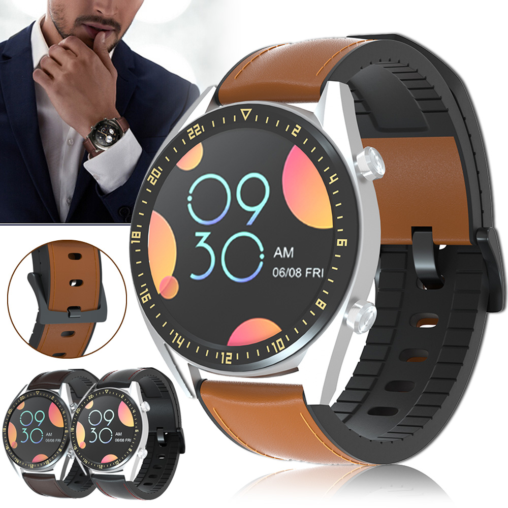 22mm Watch Strap For Huawei Watch GT2 GT 2 Genuine Leather Band Silicone Bracelet Watchbands Honor Watch Magic ремешок