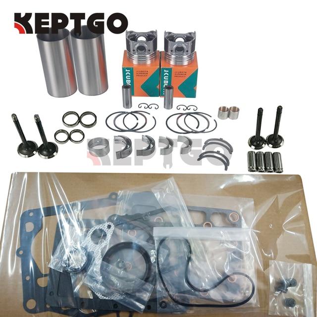 New Overhaul Rebuild Kit for Kubota Z600 ZB600 Engine B4200 Tractor
