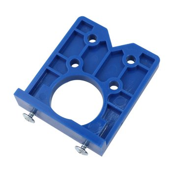 Hinge Hole Drilling Guide Locator Hinge Drilling Jig Concealed Guide Woodworking Hole Opener  Door    Cabinet Accessories Tool electricity cabinet bronze tone metal concealed hinge is generally used as fixing hinge