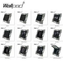 FAI DA TE Tasto Funzione UE L6 Per Il Modulo Interruttore e Presa con Artigli di Montaggio Posteriore Wallpad L6 Serie