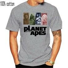 Affiche de film la planète des Apes, t-shirt pour homme, à Montage singe, humoristique, Vintage, 1968