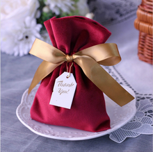 Jewelry bag gift European wedding candy box bridesmaid with hand  gifts boxs for guests