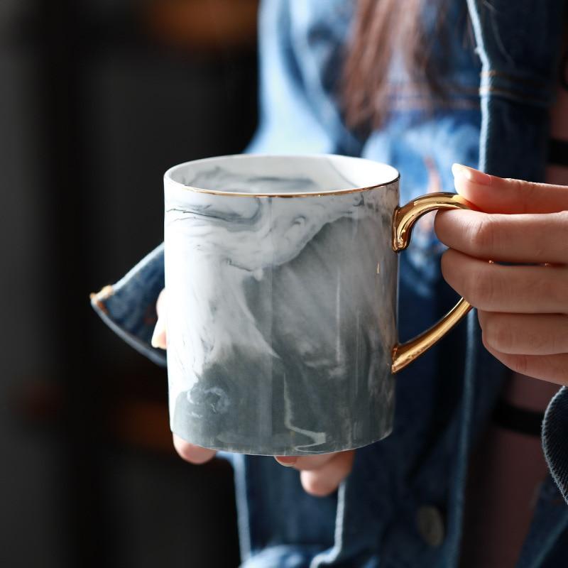 Lekoch European Marble Grain Mug 10