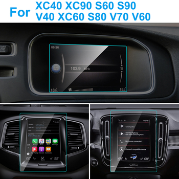 Car GPS Navigation Screen Protector for Volvo XC40 XC90 S60 S90 V40 XC60 S80 V70 V60 Interior Protective Film Auto Accessories image