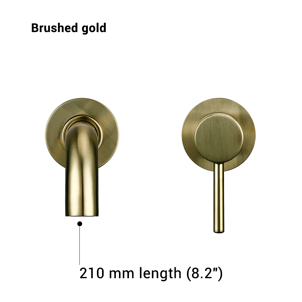 Brushed Gold-210 mm