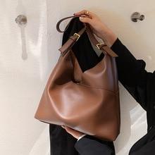 High Quality Ladies Retro Shoulder Bag In2021 New Female Bag Korean Version Large Capacity Single Shoulder Messenger Hand Bag