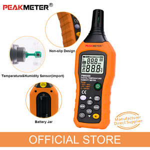 Image 5 - Official PEAKMETER PM6508 Digital Temperature Humidity Hygrometer Thermometer Weather Station