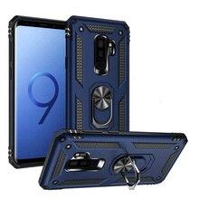 Чехол для телефона Samsung Galaxy S9 Plus, защитный жесткий противоударный бампер с кольцом-подставкой Glaxay S9 + 9S 9 plus S9plus S 9 Note для мужчин и женщин