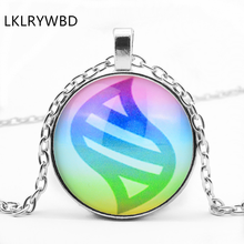 LKLRYWBD / Pokemon Tail Round Glass Pendant Necklace Jewelry