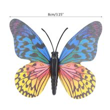 Crafts Decorative Artificial-Butterfly-Decorations Garden Art-Ornaments Lawn Patio Yard