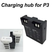 4 в 1 Батарея Зарядное устройство параллельная зарядная Hub доска для DJI Phantom 3 Drone Quick Зарядное устройство смарт полет Батарея менеджер запасные части