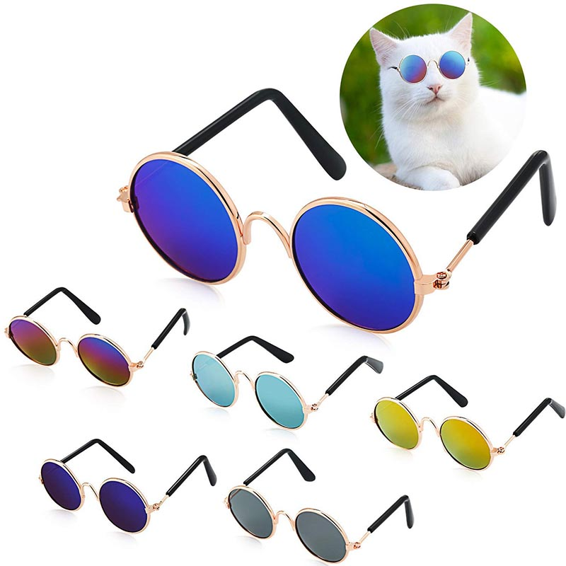Cat Dog Sunglasses Pet Eye-wear For Small Dog Pet Products Photos Props Accessories Pet Supplies Cats Glasses Toys
