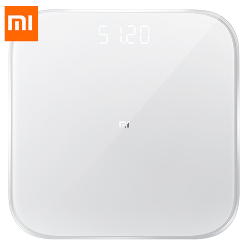 Original Xiao mi mi balance de poids intelligente 2 santé balance de poids Bluetooth 5 balance numérique Support Android 4.3 IOS 9 mi fit APP #3