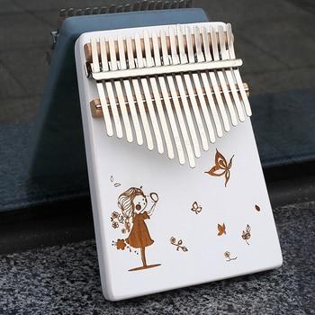 instrument kalimba bois blanc