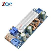 Повышающий преобразователь постоянного тока 2-24 В до 3-30 в 4A 80 Вт CC CV модуль питания Регулируемый источник питания 3,7 в 6 в 9 в 12 В с USB