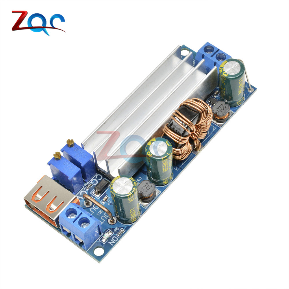 <font><b>DC</b></font> <font><b>DC</b></font> <font><b>Step</b></font> <font><b>Up</b></font> Boost Converter 2-24v to 3-30v 4A 80w CC CV Power Module Adjustable Regulated power supply 3.7V 6V 9V 12V With USB image