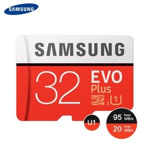 Image 4 - SAMSUNG tarjeta de memoria Micro SD para teléfono inteligente/tableta, memoria de 512G, 256GB, 128GB, 64GB, 100 MB/s, SDXC, C10, U1U3, UHS I, MicroSD, TF, 32GB