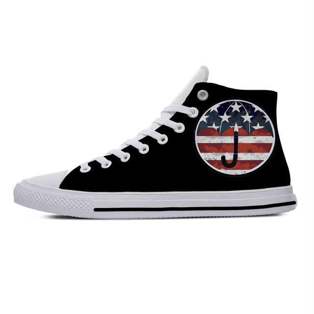THE UMBRELLA ACADEMY THEMED HIGH TOP SHOES (20 VARIAN)