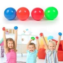 Kids Toy Fidget-Toy Throw-Catch-Ball Sticky-Ball-Stress Relief-Antistress Squeeze 4pcs