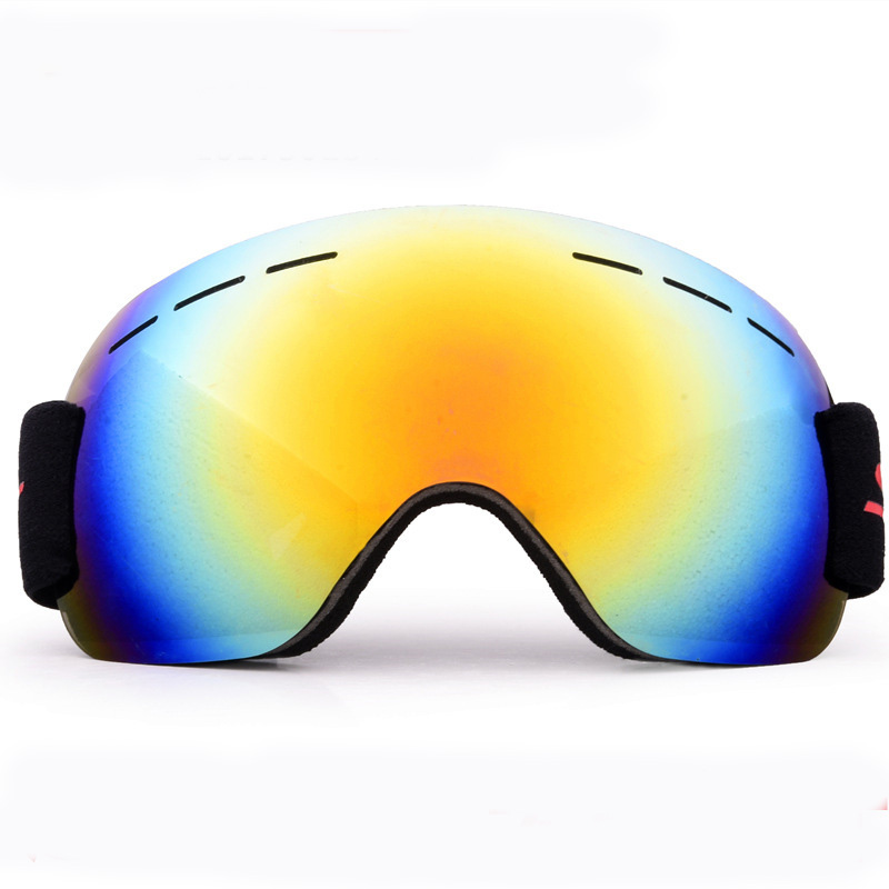 Ski Goggles Anti-fog Windproof Sand Large Spherical Glasses Men And Women-Adult Mountain Climbing Snowfield Eye-protection Goggl