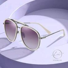 Lm Новая мода большая оправа поляризованные солнцезащитные очки