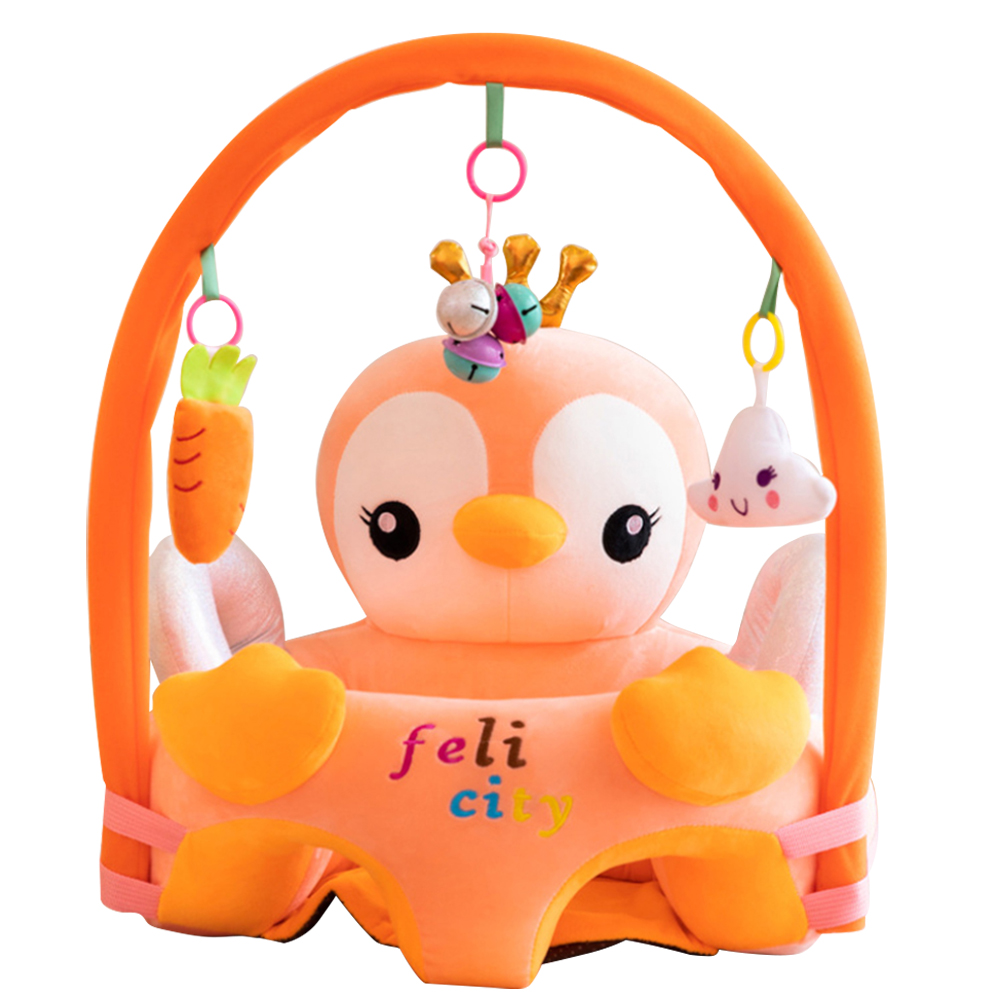 Baby Sofa Infant Support Seat Learning Sitting For Pillow Chair Cushion Bouncer Feeding Pillows Plush Floor Cute Animal Seats D2