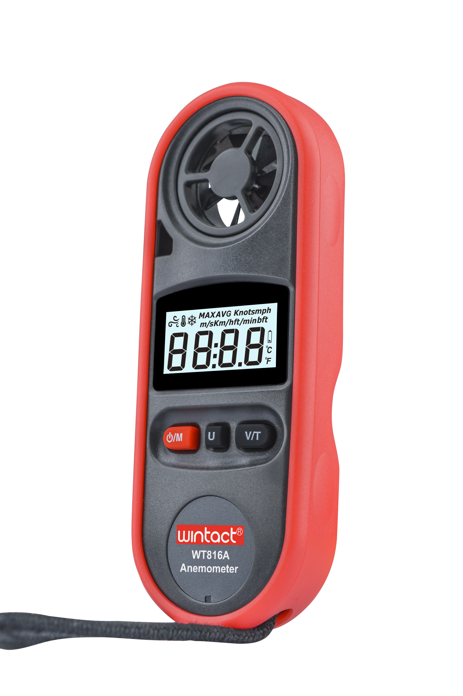 Portable RZ GM816 Wind Speed Meter Used as Anemometer with LCD Display Useful for Windsurfing 21