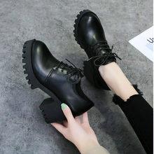 Sommer Herbst Britischen Stil Split Leder Frauen Platz Ferse Flache Plattform Schuhe Frau Lace-up Oxford Schuhe für Frauen heels 7cm