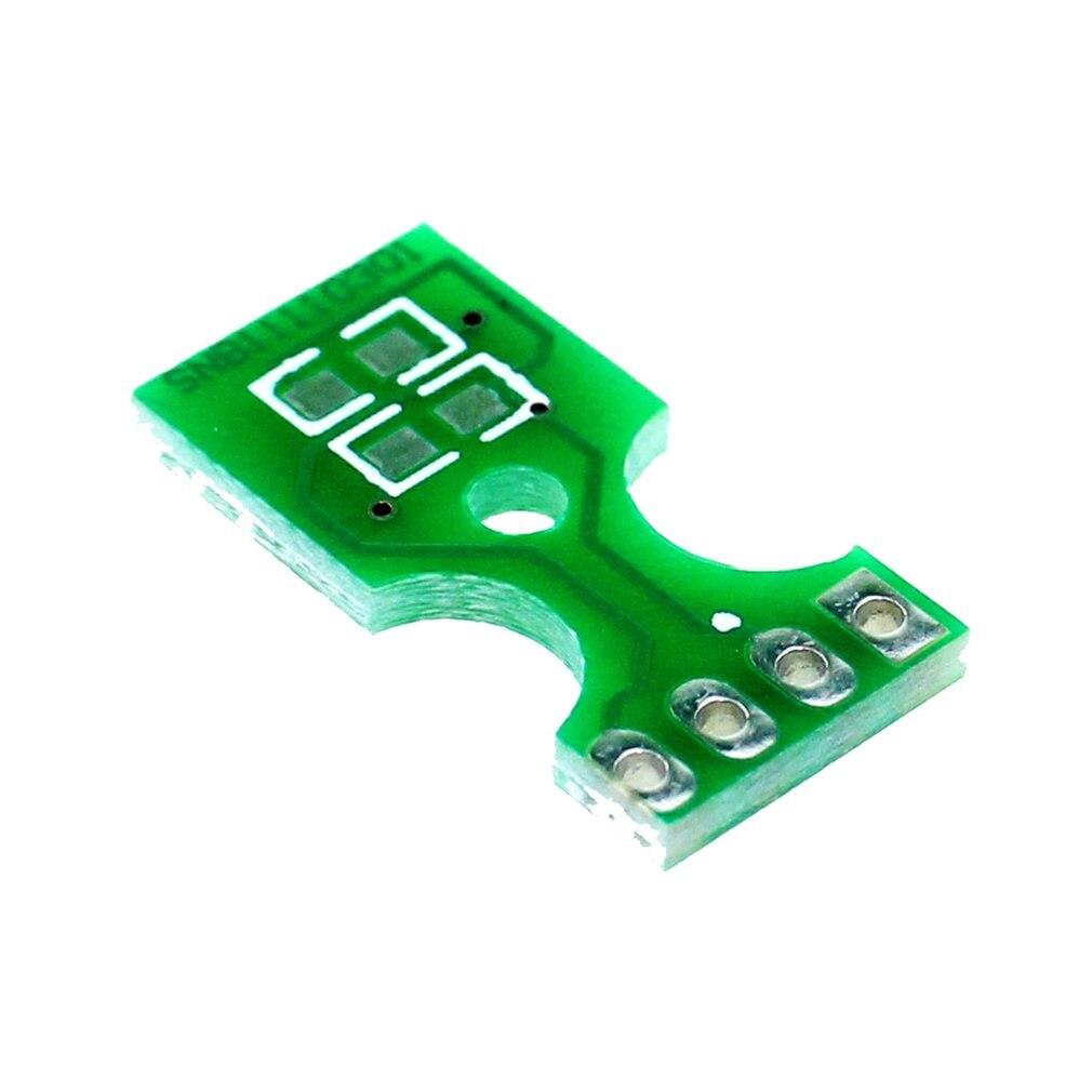 1Pcs Temperature Humidity Sensor PCB Board Plate For SHT10 SHT11 SHT15 BS5 B5 Environmentally Friendly Materials
