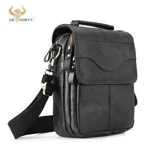 Satchel Messenger-Bag Cross-Body-Bag Shoulder Cowhide 8--Tablet Casual-Design Fashion