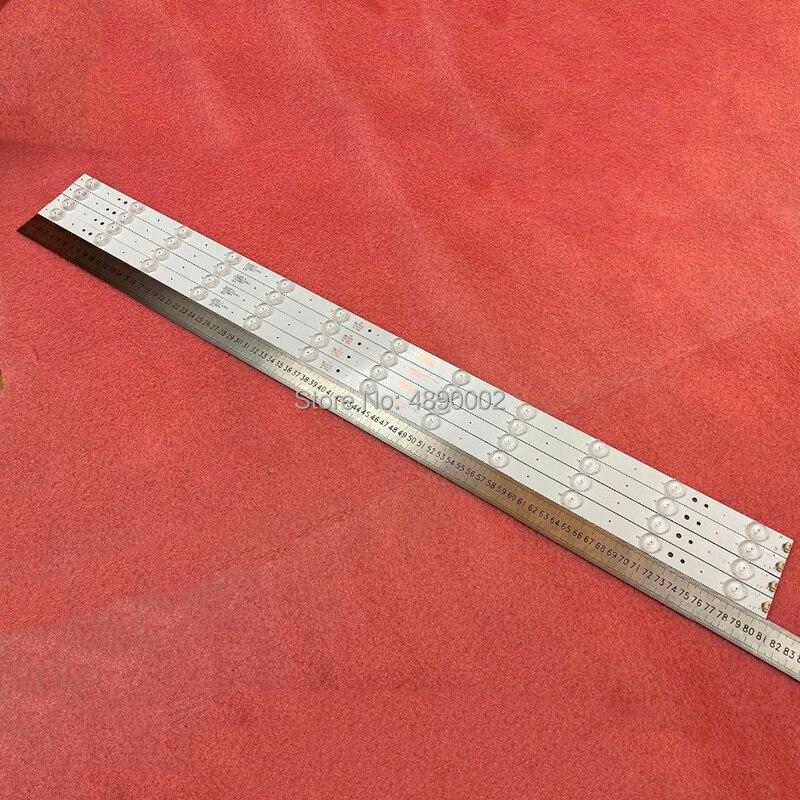 New 4 PCS 12LED 808mm LED Backlight Strip For LE40B3000 LED40ME1000 LED40D12-ZC14-04 A B LED40D12-03(B) A