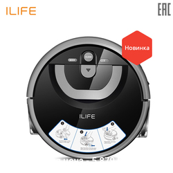 Robot vacuum cleaner ILIFE W400 for dry and wet household appliances for home wireless