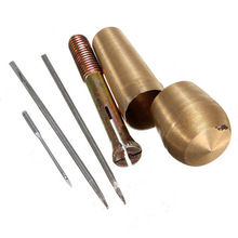 1 Set Leathercraft Sewing Shoe Copper-alloy Repair Tool Copper Alloy Needle Awl Canvas Leather Crafts Kit Tools Sets