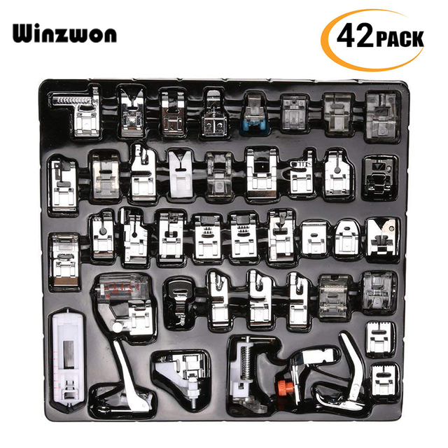 Sewing Machine Presser Foot Kit Set For Brother Singer Janome