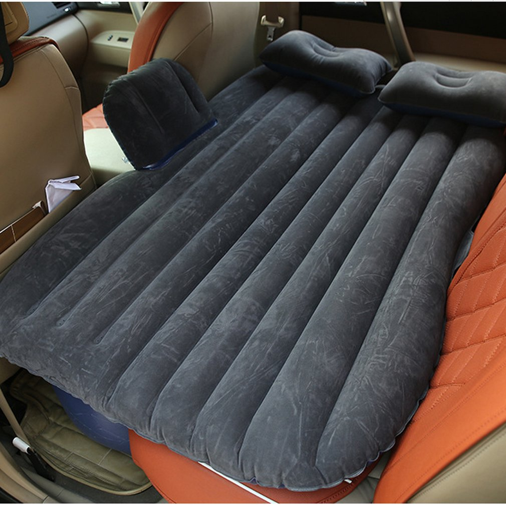 Durable Car Back Seat Cover Car Air Mattress Travel Bed Moisture-proof Inflatable Mattress Air Bed For Car Interior Toiletry Kit