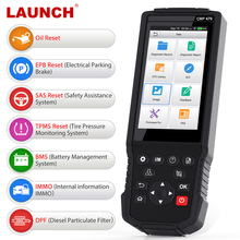 Launch X431 CRP479 OBD 2 Scanner ABS EPB DPF Oil Reset 16 System obdii car diagnostic tool OBD2 Automotive Scanner PK CRP429C