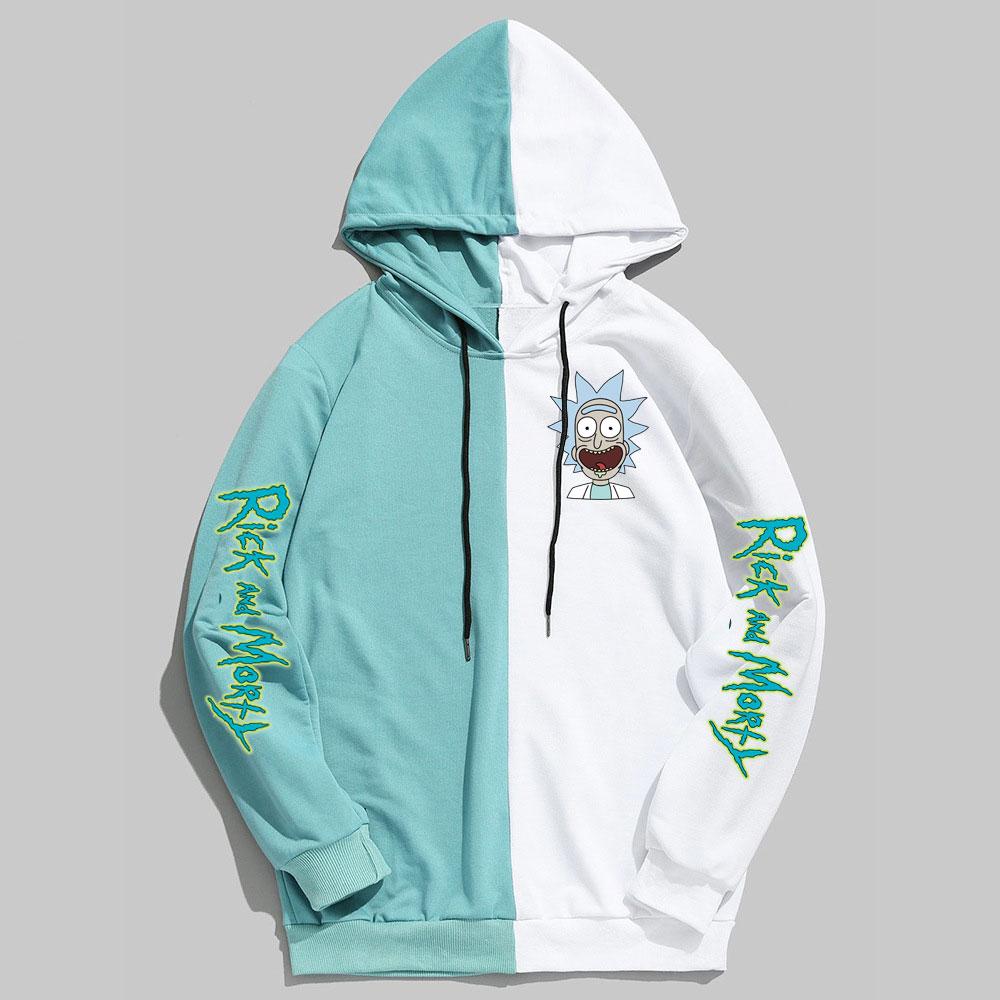 New Rick And Morty Hoodie Spring Autumn Sweatshirt Men Women Funny Streetwear Hip Hop Hoody Long Sleeve Hoodies Harajuku