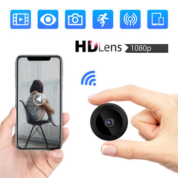 Wireless Mini WIFI 1080P IP Camera Cloud Storage Infrared Night Vision Smart Home Security Baby Monitor Motion Detection 2019
