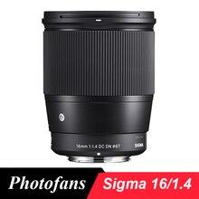 Sigma 16 мм f/1,4 DC DN современный объектив