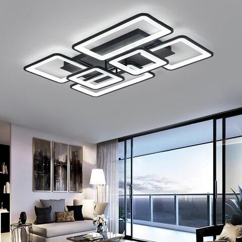lustre para sala estar quarto cozinha com controle remoto luminarias