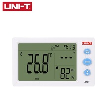 UNI-T A10T Digital Thermometer-10-50 (14~122F) Humidity Meter Detector Thermometer Hygrometer Alarm Clock