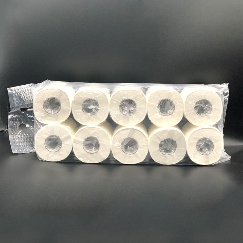 4 Layers Small Roll Paper Restaurant Roll Toilet Paper Towel 50JF
