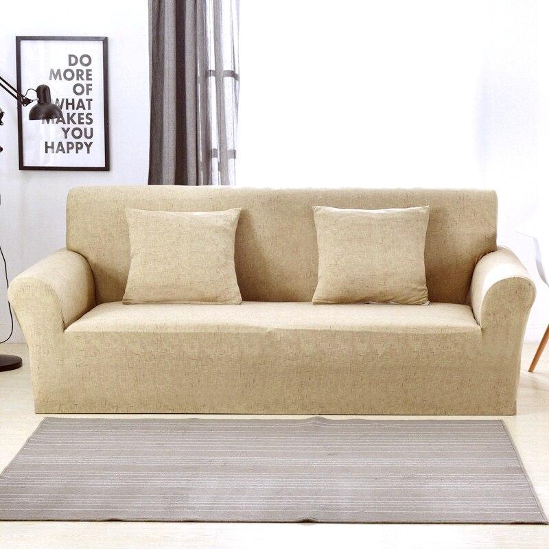 Image 5 - Универсальные чехлы для диванов для гостиной, эластичные чехлы для диванов, растягивающиеся чехлы для мебели, секционные Чехлы для диванов, copridivanoПокрывало на диван   -