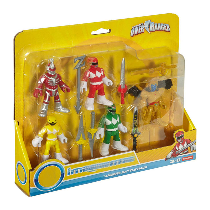 5pcs / Set Powers Toy Rangers Action Figure Mighty Morphin Powers Mecha Beast Super Rangers Gift For Kids