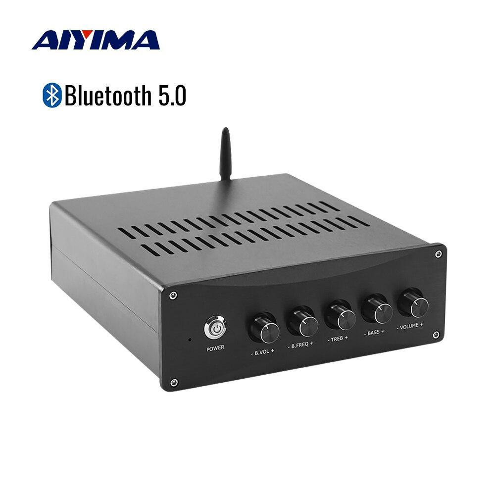 AIYIMA TPA3255 Bluetooth QCC3034 5,0 усилитель мощности 2,1 усилитель сабвуфера 150Wx2 + 300 Вт усилитель звука динамик Домашнее аудио