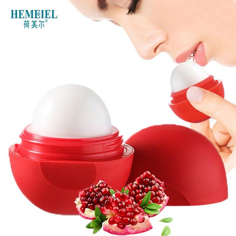 HEMEIEL Lip Balm Fruit Sweet Lipstic Lip Protector Sweet Lip Ball Nourish Gloss Enhancer Chapstic Sphere Pomade Lip Moisturizer