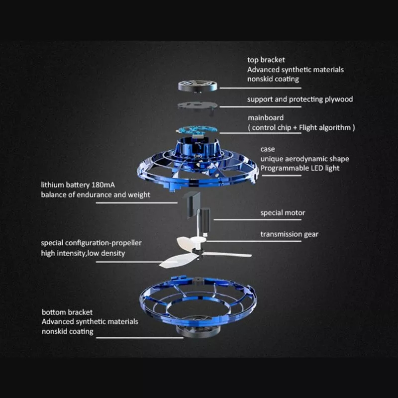 Z30 LED Flying Spinner Mini Drone